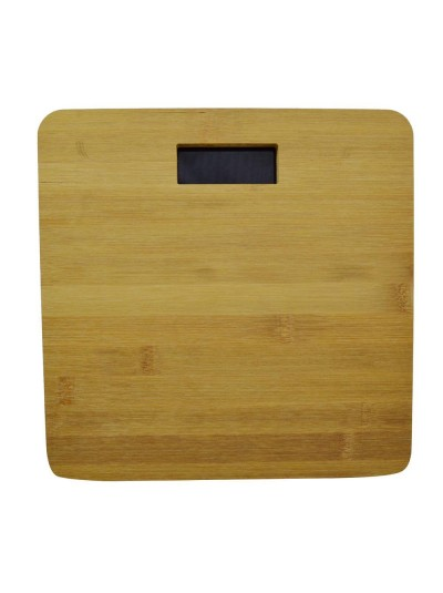 BAMBOO SCALE WITH LED SCREEN