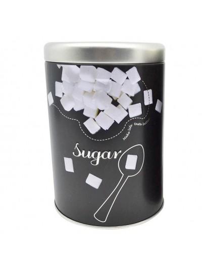 ΒΑΖΟ ΜΕΤΑΛΛΙΚΟ ΜΑΥΡΟ Sugar 10,5x15εκ.ANKOR