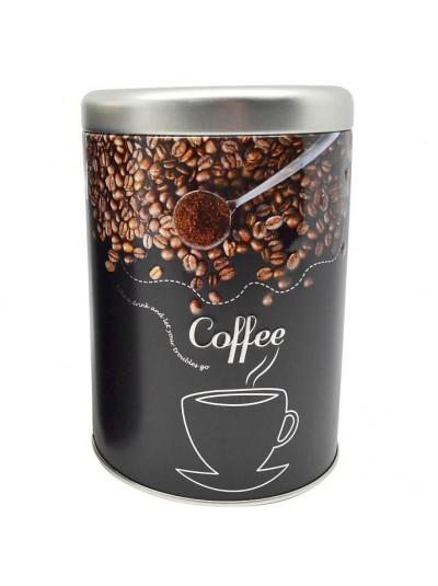ΒΑΖΟ ΜΕΤΑΛΛΙΚΟ ΜΑΥΡΟ Coffee 10,5x15εκ.ANKOR