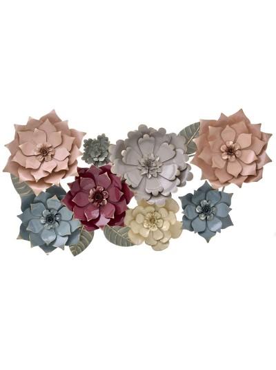 Metal Flowers 106X62