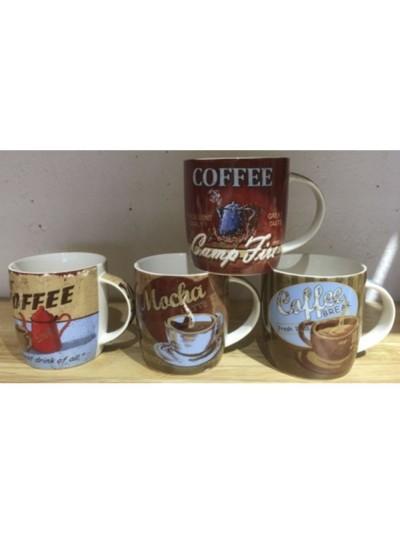 ΚΟΥΠΑ 350ml 4 ΣΧΕΔΙΑ COFFEE