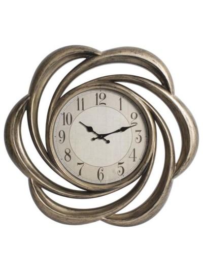 Ρολόι Τοίχου σε Μπρονζέ Χρώμα INART