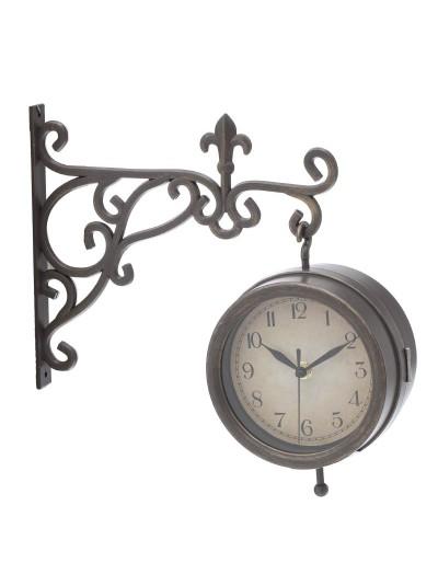Inart Ρολόι Σταθμού Κωδικός : 3-25-828-0001 Διαστάσεις : 30Χ10Χ25.5 Εκατοστά
