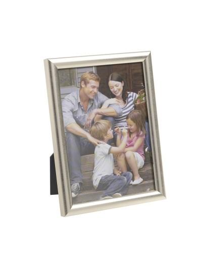 INART Πλαστική Κορνίζα Ασημί 10X15 Κωδικός: 3-30-056-1673