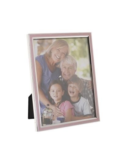 Κορνίζα 15Χ20 Εκατοστά Silver/Pink/Purple INART