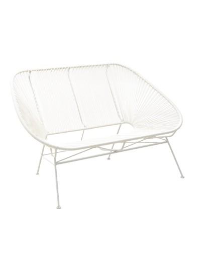 Καναπές PVC/Μεταλλικός 145Χ80Χ90 Εκατοστά INART 3-50-080-0001