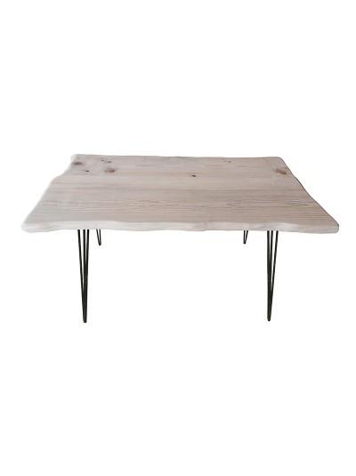 INART Τραπέζι Ξύλινο Αντικέ Νatural Κωδικός: 3-50-184-0002 Διαστάσεις: 120Χ60Χ75 Εκατοστά