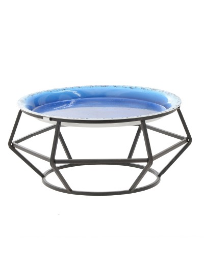 INART Επιτραπέζιο Βοηθητικό Διακοσμητικό Τραπέζι Κωδικός: 3-50-294-0084 Διαστάσεις: 30X27X13 Εκατοστά