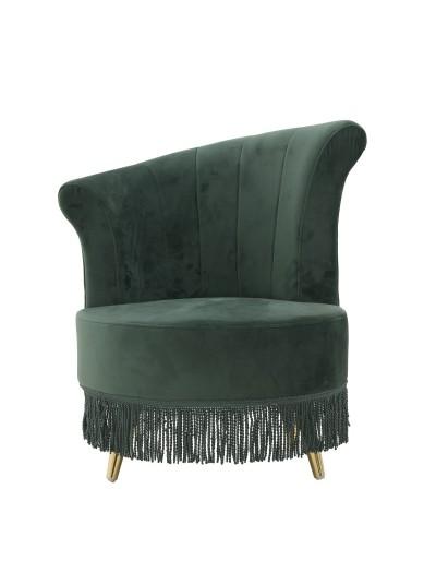 Βελούδινη Καρέκλα/Σκαμπώ
