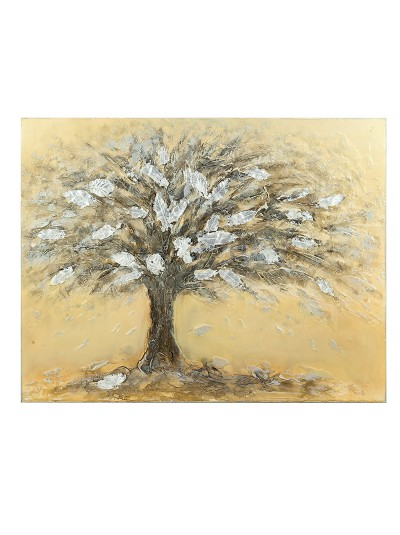INART Πίνακας/Καμβάς Oil με Δέντρο Κωδικός: 3-90-006-0132 Διαστάσεις: 100Χ4Χ80 Εκατοστά