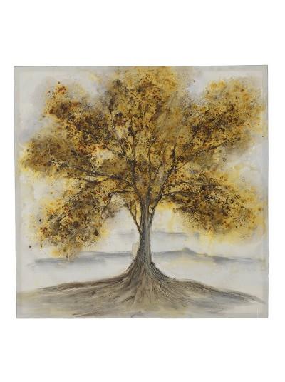 "INART Ξύλινος Πίνακας ""Δέντρο"" Κωδικός: 3-90-242-0123 Διαστάσεις: 100Χ3Χ100 Εκατοστά"
