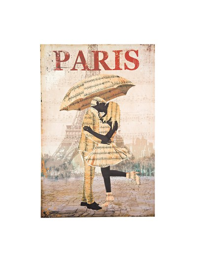 INART Πίνακας/καμβάς PARIS Κωδικός: 3-90-442-0005 Διαστάσεις:  60X2X90 Εκατοστά