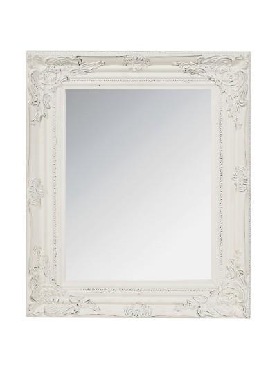 INART Καθρέπτης Τοίχου Polyresin Αντικέ Εκρού Κωδικός: 3-95-261-0112  Διαστάσεις:  44X4X54 Εκατοστά