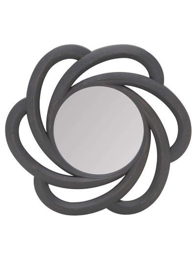 INART Πλαστικός Καθρέπτης Τοίχου Αντικέ Καφέ Κωδικός: 3-95-284-0006 Διαστάσεις: 51Χ6Χ51 Εκατοστά