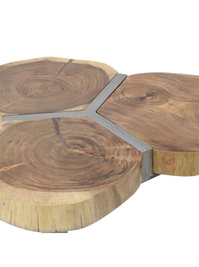 Ξύλινο/Mεταλλικό Τραπέζι 7-50-053-0006
