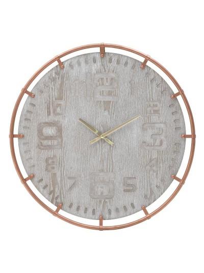 Inart Ρολόι Τοίχου 3-20-463-0031 3-20-463-0031