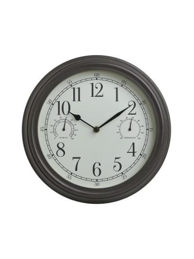 Inart Ρολόι Τοίχου 3-20-828-0125 3-20-828-0125