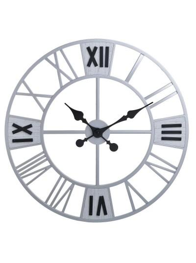 Inart Ρολόι Τοίχου 3-20-828-0126 3-20-828-0126