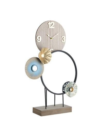 Inart Επιτραπέζιο Ρολόι 3-20-874-0013 3-20-874-0013