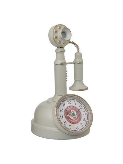 Inart Επιτραπέζιο Ρολόι 3-20-977-0300 3-20-977-0300