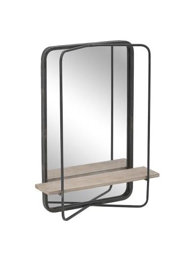 Inart Καθρέπτης Τοίχου 3-95-407-0001