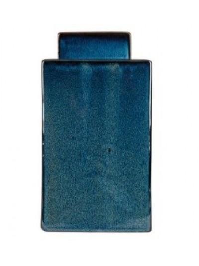 Κεραμικό Βάζο Μπλε Μεγάλο με Καπάκι Trimar