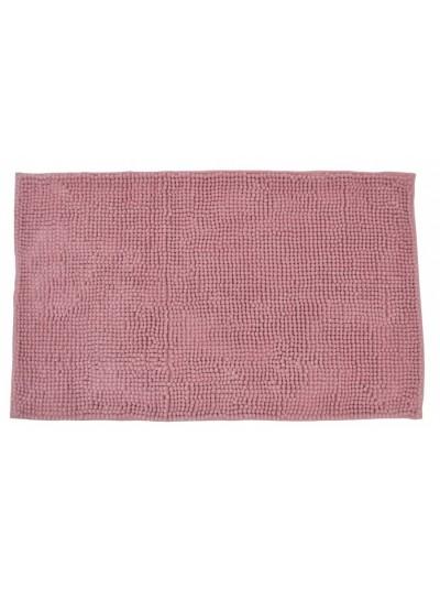 Πατάκι Μπάνιου Ροζ Μονόχρωμο Σενίλ 50 X 80 Eκατοστά