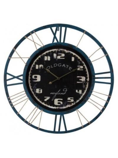 Ρολόι Τοίχου Μεταλλικό Τοίχου Trimar Old Gate 70 Εκατοστών