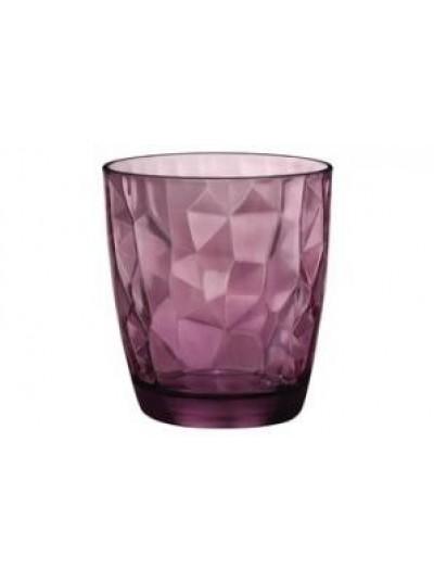 Ποτήρια 305ML Σετ 6 Bormioli Rocco σε Σκούρο Ροζ Χρώμα