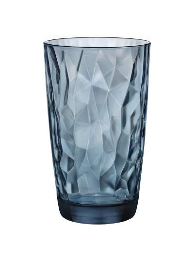 Ποτήρια 470ML Σετ 6 Bormioli Rocco σε Σκούρο Μπλε Χρώμα