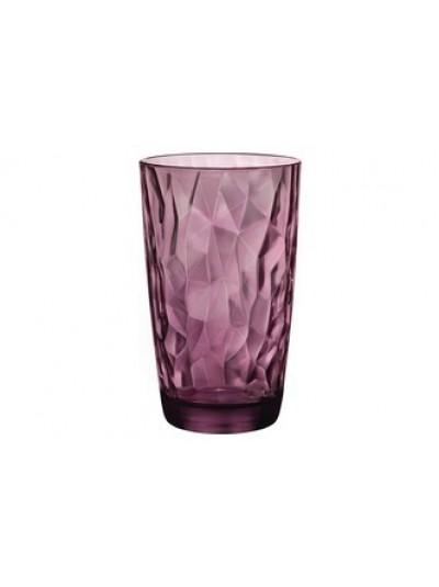 Ποτήρια 470ML Σετ 6 Bormioli Rocco σε Σκούρο Ροζ Χρώμα