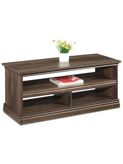 Τραπέζι σαλονιού Mozart pakoworld χρώμα καρυδί 120x51,5x54εκ