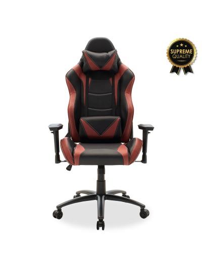 Καρέκλα γραφείου Russel-Gaming SUPREME QUALITY pu μαύρο-μπορντώ