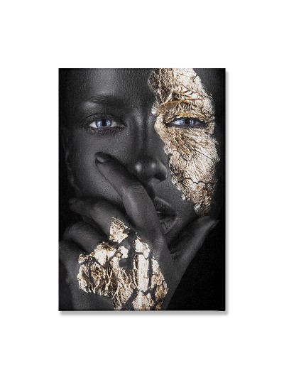 Πίνακας σε καμβά PWF-0303 pakoworld με ψηφιακή εκτύπωση 50x3x70εκ