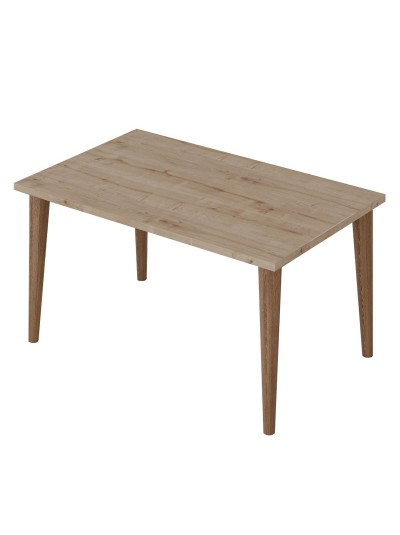 Τραπέζι σαλονιού Zahar pakoworld sonoma-καφέ 72x45x42εκ