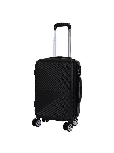 Βαλίτσα Ταξιδιού Μαύρη INART Κωδικός: 6-70-059-0036 Διαστάσεις: 36Χ23Χ54 Εκατοστά