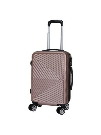 Βαλίτσα Ταξιδιού Ροζ/Χρυσή INART Κωδικός: 6-70-059-0038 Διαστάσεις: 36Χ23Χ54 Εκατοστά