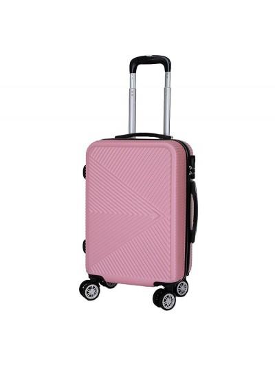 Βαλίτσα Ταξιδιού Ροζ INART Κωδικός: 6-70-059-0041 Διαστάσεις: 36Χ23Χ54 Εκατοστά