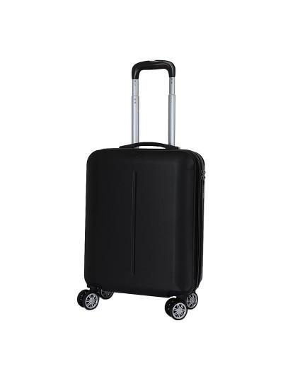 Βαλίτσα Ταξιδιού Μαύρη INART Κωδικός: 6-70-059-0042 Διαστάσεις: 38Χ20Χ52 Εκατοστά