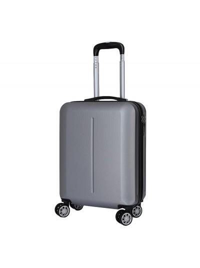 INART Βαλίτσα Ταξιδιού με 4 Ρόδες και Κλειδαριά Ασημί INART Κωδικός: 6-70-059-0043 Διαστάσεις: 38Χ20Χ52 Εκατοστά