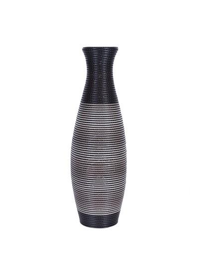 Βάζο Δαπέδου FYLLIANA Γκρι PVC Κωδικός:373-91-939 Διαστάσεις: 80 Εκατοστά