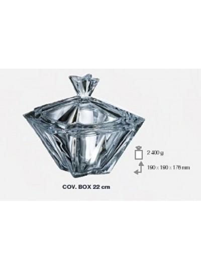 Φοντανιέρα Κρυστάλλινη Bohemia Crystal 220 Metropolitan 22 Εκατοστά