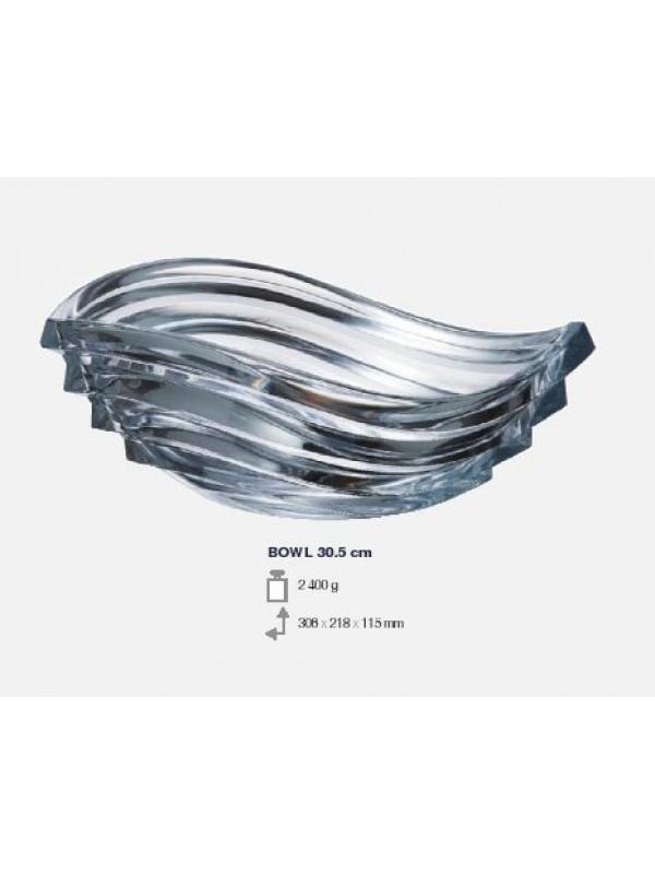Κουπ Κρυστάλλινη Bohemia Crystal 305 Wave 30.5 Εκατοστά