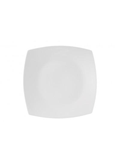 Πιατέλα Τετράγωνη Λευκή Prisma 31cm Ionia Basics Κωδικός: 8640623
