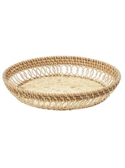 Δίσκος Bamboo 36Χ36Χ6 Εκατοστά 3-70-564-0044 INART