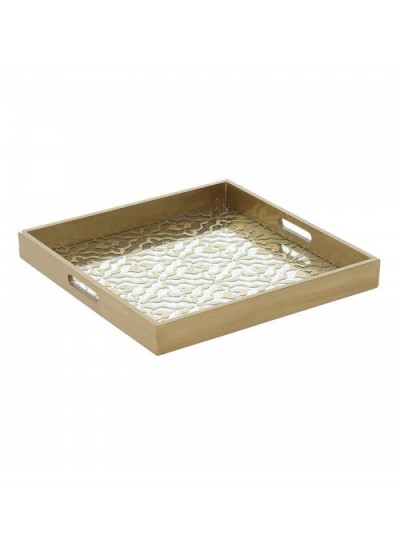 Ξύλινος Δίσκος 40Χ40Χ4.5 Εκατοστά 3-70-616-0023 INART