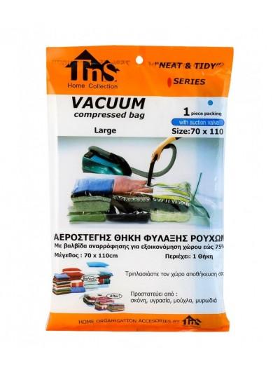 Αεροστεγής Θήκη Φύλαξης Vacuum TNS Κωδικός: 32-950-0164 Διαστάσεις; 70X110 Εκατοστά