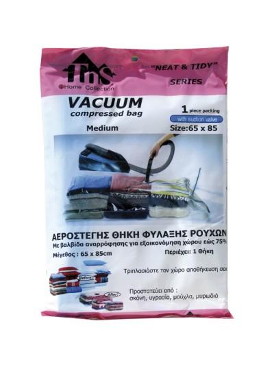 Αεροστεγής Θήκη Φύλαξης Vacuum TNS Κωδικός: 32-950-0164 Διαστάσεις; 65Χ85 Εκατοστά