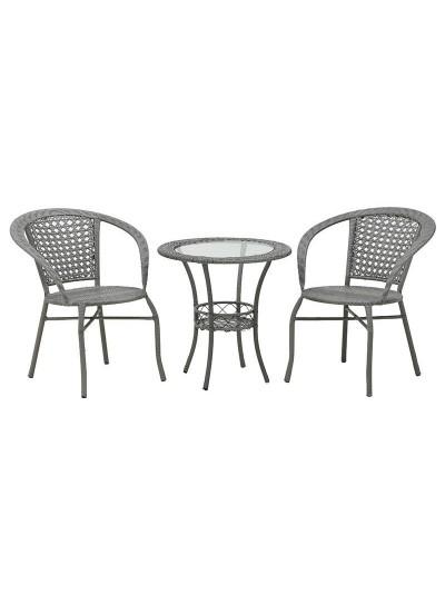 Σετ Τραπέζι Και 2 Καρέκλες 6-50-715-0001
