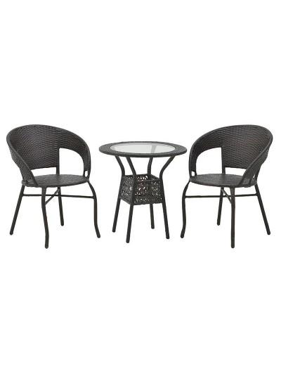Σετ Τραπέζι Και 2 Καρέκλες 6-50-715-0002